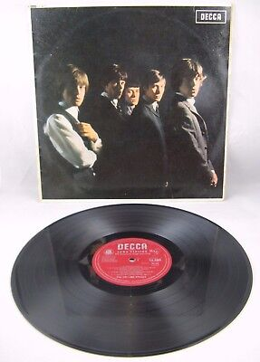 "THE ROLLING STONES - ""S/T"" 1st LP 1964 DECCA MONO 2A/4A + INNER - EX+/EX"