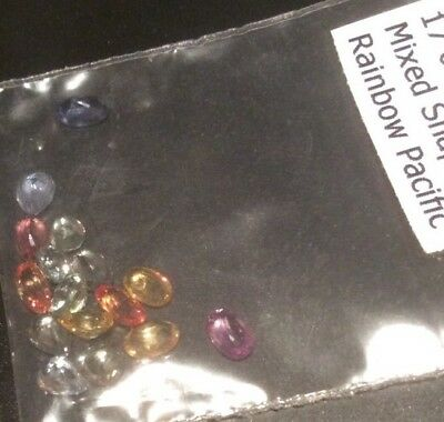 5cwt Of natural Pacific Rainbow sapphires... Gorgeous