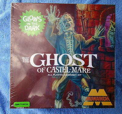 Glow Ghost Of Castel-Mare, Rare Model From Monarch, Sealed, Out Of Production
