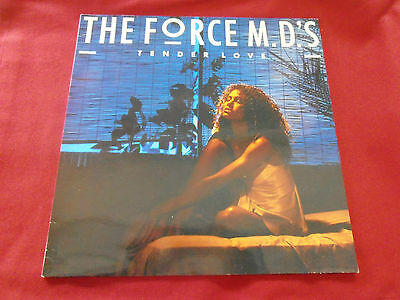 THE FORCE M.D'S Tender Love LP The Fat Boys  New Jack Swing Soul / Island '85.