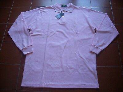 Rare Deadstock Fred Perry Cotton Tennis Polo Top Pink 70 80 Casuals S46 Bnwt Vtg