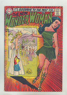Wonder Woman #179 VG+ Sekowsky, Classic Cover (Gives Up Costume)