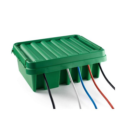 SOCKiT BOX FL-1859-330-G Weatherproof Powercord Connection Box 330, Green