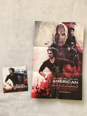 AMERICAN ASSASSIN 11x17 DS Original Promo Movie Poster MINT Folded Dylan O'Brien