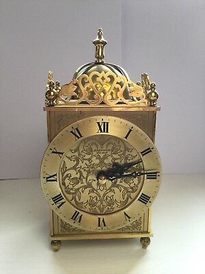 Junghans Carriage/lantern Antique/vintage Mantle Clock
