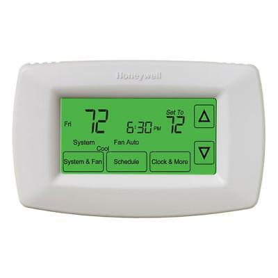 HONEYWELL 7-Day Programmable Touchscreen Thermostat RTH 7600D