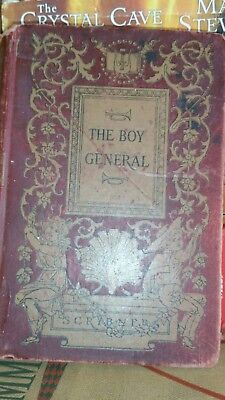 Antique Book The Boy General 1907 LIfe of George Custer as told by E. Custer