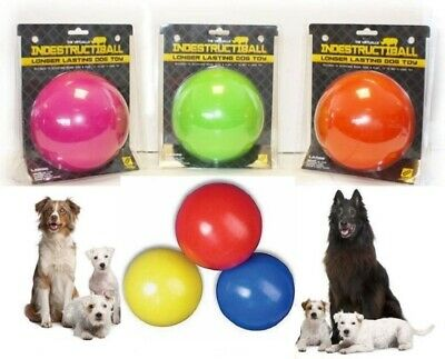 Indestructible Ball Solid Boomer Dog Ball Tough Durable Chase Toy also Floats