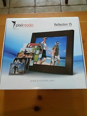 "NEW 15 "" Digital Picture Frame by Piximodo"
