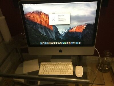 "iMac 24"" 9.1 2009 model full working order."