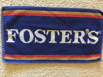 This Foster's bar towel from England is about 20 years old.