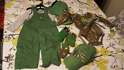 Lot of baby 3/6 month John Deere clothes