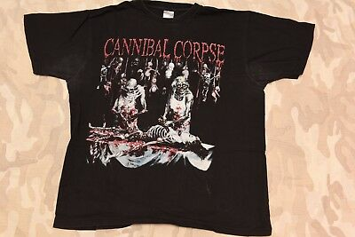 CANNIBAL CORPSE - BUTCHERED AT BIRTH T-shirt XL