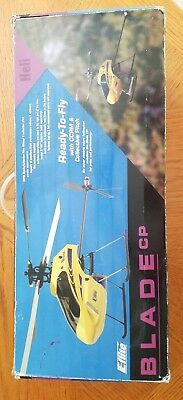 Eflite Blade CP RC Helicopter radio controlled heli flying hobby needs repair nr