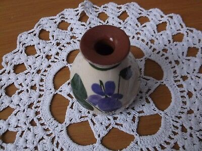 torquay pottery Devon Violets scent bottle in good condition