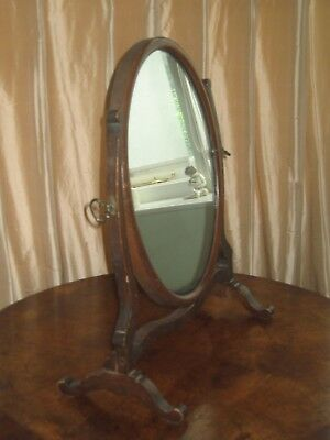 Dressing Table Oval Mirror