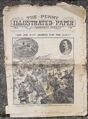 The Penny Illustrated Paper - Dated 1900