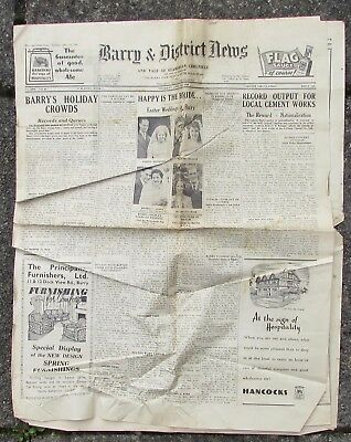 Barry And District News - Newspaper - Dated 1949