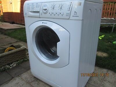 Hotpoint WDL540P All-in-One - White washer dryer 7kg