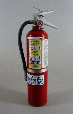 General 10Lb Pound Dry Abc Fire Extinguisher Charged Free Ship!