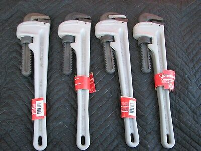 "Qty (4) Rothenberger 18"" Aluminum Pipe Wrenches"