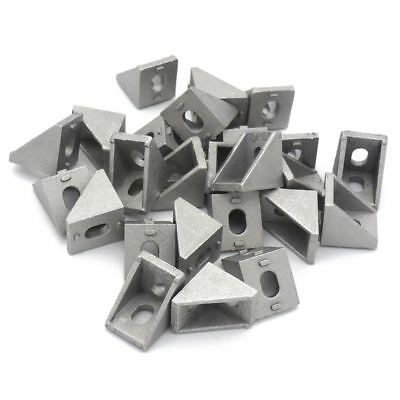 2020 Corner Bracket for 20mm Extrusion Size 20x20x17mm Pack of 25 L2A4 B4C1