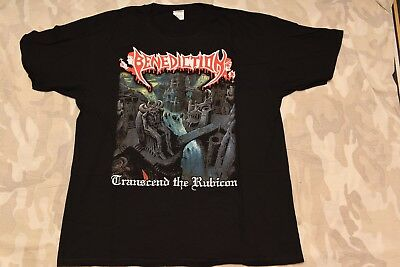 BENEDICTION - TRANSCEND THE RUBICON T-shirt XL