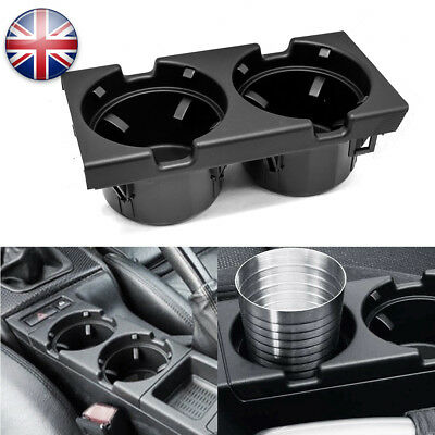 Black Cup/can/drinks/coin Holder Centre/center Console For Bmw 3Series E46