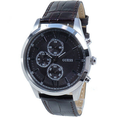 Guess Watch Mens Chronograph W0876G1 Hudson Bracelet Brand NEW