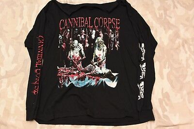 CANNIBAL CORPSE - BUTCHERED AT BIRTH Long Sleeve Shirt XL