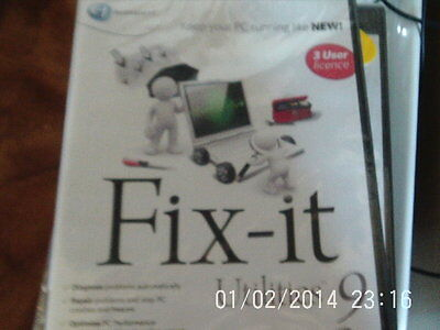 Fix It Utilities 9 (PC-CD) BRAND NEW SEALED