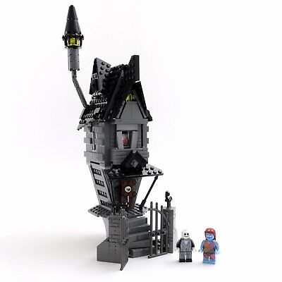 Custom LEGO Nightmare Before Christmas Jack Skellington's House Instructions PDF