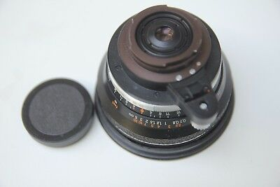 Carl Zeiss Jena Flektogon 25mm F4 Exakta Mount Lens