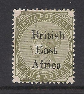 BRITISH EAST AFRICA  1895 opt  4a olive-green  SG55  MM