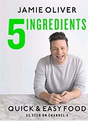 NEW: DIGITAL BOOK in PDF: 5 Ingredients - Quick & Easy Food by Jamie Oliver