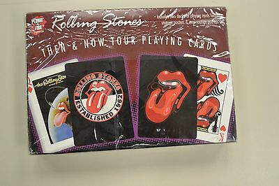 Rolling Stones Then & Now Tour Playing Cards Still Sealed Deck
