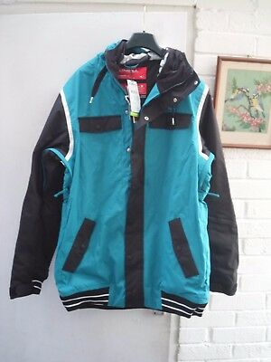 Oneill Ski Seb Toots Jacket Size38/40 Waterproof Breathable Rrp £189.99 One Only