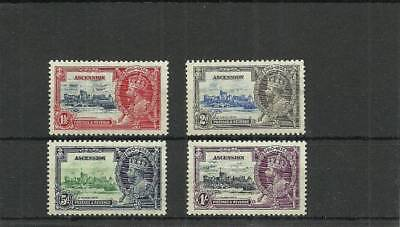 Ascension Sg31-34 1935 Silver Jubilee Set Mounted Mint