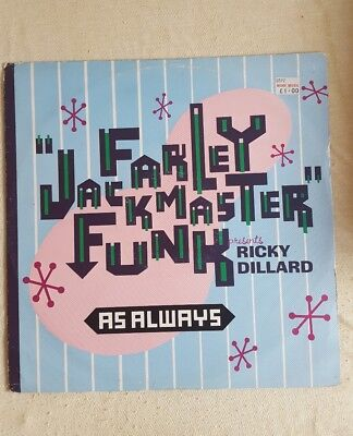 """Farley Jackmaster Funk As Always 12"""" 1988 Champion Records"""