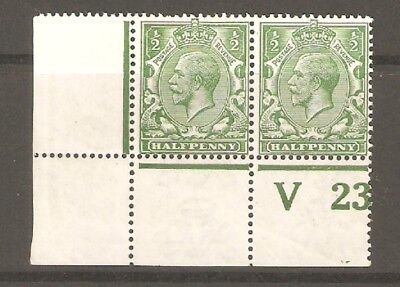 GV Spec N14  Control V23 shading by Halfpenny Mounted Mint