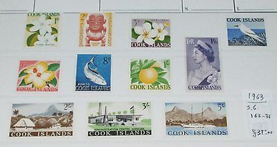 Isole Cook  - 1963 : Ordinaria - Val.  11  - MNH **