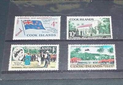 Isole Cook  - 1965 : Self governement - Val.  4  - MNH **