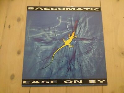 Ease On By by Bassomatic 12inch vinyl 1990 William Orbit