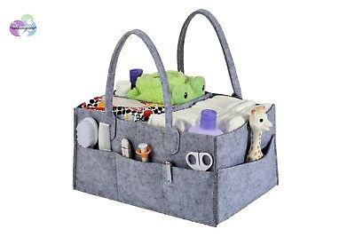 Stuff Me Baby - Portable Diaper Caddy and Baby Wipes Storage Organizer Bin for H