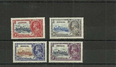 Bermuda Sg94-97 1935 Silver Jubilee Set Mounted Mint