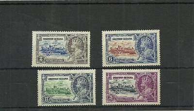 British Guiana Sg301-304 1935 Silver Jubilee Set  Mounted Mint