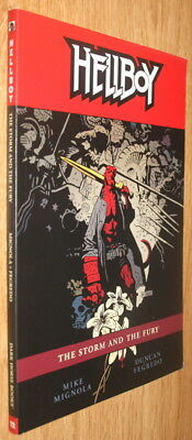 Hellboy: The Storm And The Fury Trade Paperback, Mike Mignola, Oop