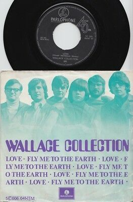 WALLACE COLLECTION * 1968 Belgian PSYCHEDELIC POPSIKE 45 * Listen!
