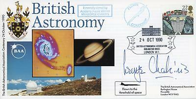 GB 1990 Astronomy Concorde Flown FDC Signed by GEORGE CHAKIRIS