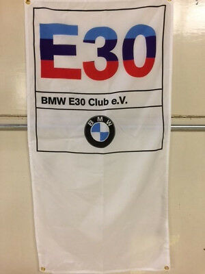 E30 Club banner ~ motorsport M coupe racing alms 325 m3 racing sport evo